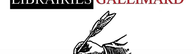 Rendez-vous… le 12 avril à la librairie Gallimard (Paris)